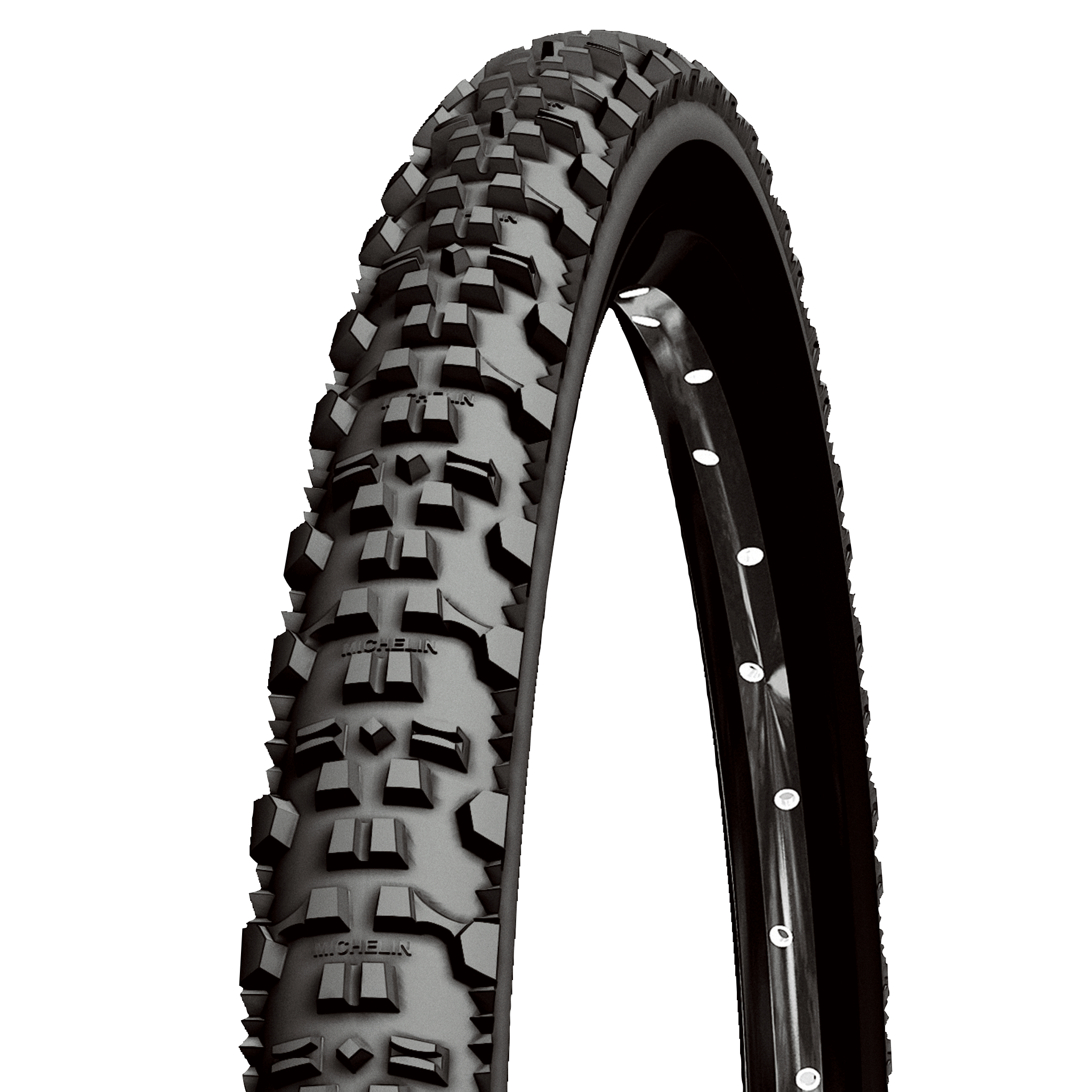 "Покрышка Michelin COUNTRY AT 26"" 52-559 (26X2.00) MTB, черный"